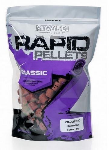 Rapid Pellets Classic Red Halibut 1kg