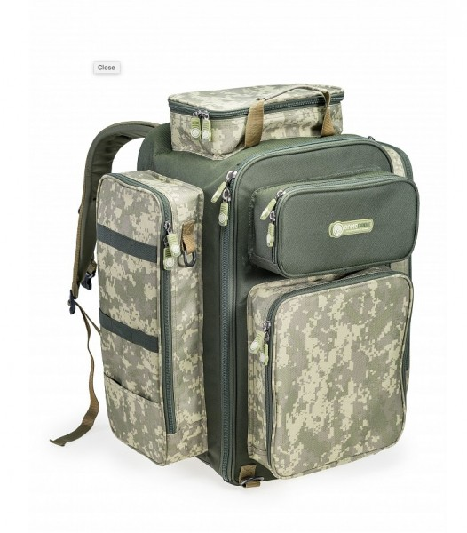 Backpack Camo Code Cube XL Rucksack